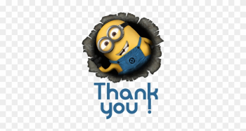 Minion Thank You Clipart & Minion Thank You Clip Art - Minions Images Hd png image transparent background