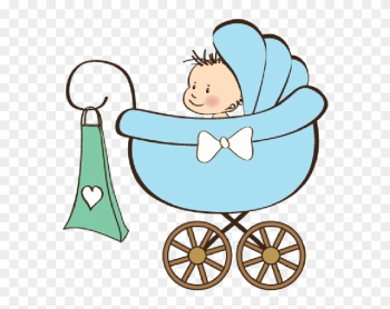 Baby Boy Carriage - Baby Carriages Clip Art png image transparent background