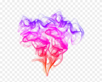 Pink Smoke Png Image With Rainbow Transparent Tumblr - Smoke Colorfull Effect Png png image transparent background