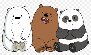 The Bears - Adult - Cubs - We Bare Bears Cartoon png image transparent background