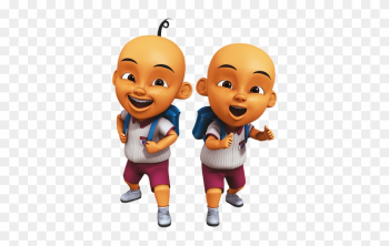 Upin And Ipin School png image transparent background