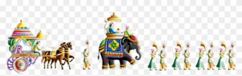 Wedding Baraat Clipart Two Png Images Transparent - Indian Wedding Clipart Png png image transparent background