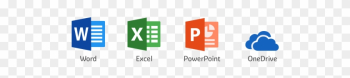 Office 365 Word, Excel Y Powerpoint - Microsoft Office png image transparent background