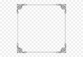 Square Border Design Google Search Clipart - Fairy Tale Border Png png image transparent background