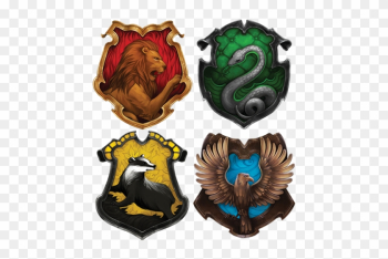 Welcome To Hogwarts School Of Witchcraft And Wizardry - Harry Potter Houses Animals png image transparent background