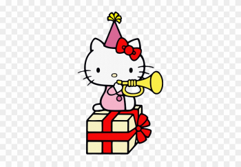 Hello Kitty - Happy Birthday Gif Hello Kitty png image transparent background