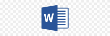 Word 2013 Cheat Sheet - Ms Word 2016 Logo png image transparent background