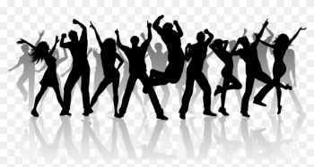 Dancer Clipart Dance Fitness - Group Of People Dancing png image transparent background