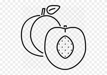 Peach Icon - Food png image transparent background