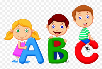 Alphabet Song Cartoon Clip Art - Baby's Babble! Baby's First Sight Words. - Baby png image transparent background