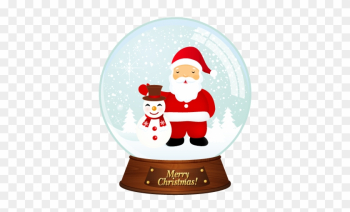 Free Vector Vector Santa Christmas Snowballs - Merry Christmas Dp For Whatsapp png image transparent background