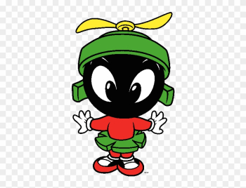 Baby Looney Tunes Clip Art Cartoon Clip Art - Baby Marvin The Martian png image transparent background