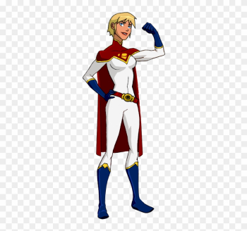 Todsen19's Power Girl By Kyomusha - Power Girl Young Justice png image transparent background
