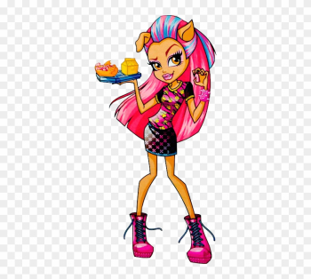 Monster High Creepateria Howleen Wolf Doll png image transparent background