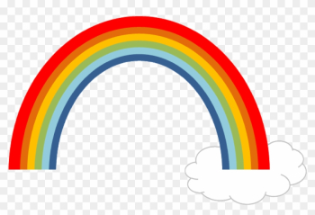 Rainbow Cloud Sky Nature Summer Png Image - Arco Iris Con Nube Png png image transparent background