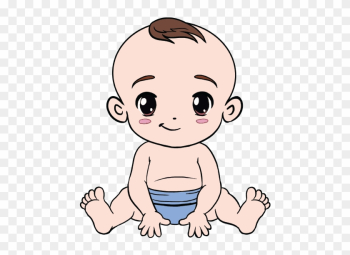 How To Draw A Baby In A Few Easy Steps Easy Drawing - Draw A Baby Boy png image transparent background
