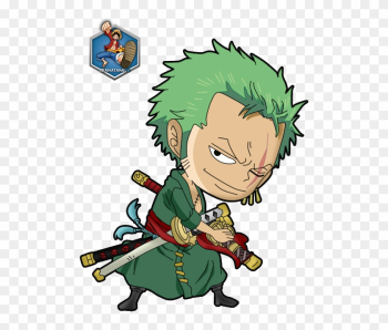 One Piece Clipart Cartoon - Chibi Luffy One Piece png image transparent background
