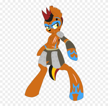 The Wolf Under Pony Skin By Warthogs117 - Furry Fox Tribe png image transparent background