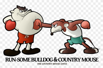 Run-some Bulldog 'n Country Mouse By Boscoloandrea - Merrie Melodies png image transparent background