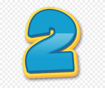 Numeros Patrulha Canina Paw Patrol Numbers 05 - Numero 2 Paw Patrol Png png image transparent background