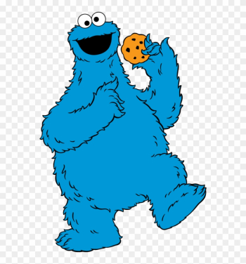 Free Clip Art Of Cookie Monster Clipart - Sesame Street Characters Clipart png image transparent background