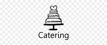 Catering For Ice Cream And Weddings - Black And White Cake Png png image transparent background