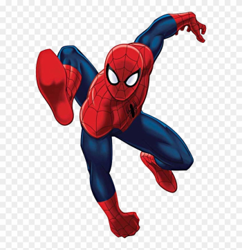 Capricious Spiderman Clipart Clip Art Jump Png Image - Marvel Universe Ultimate Spider-man #5 png image transparent background