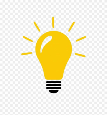 Free Stock Photo Of Lightbulb With Idea Concept Icon - Light Bulb For Ideas png image transparent background