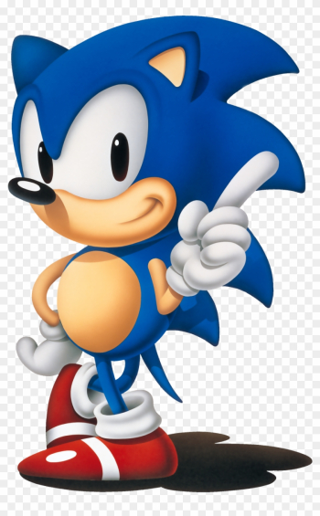 Sonic - Classic Sonic The Hedgehog Png png image transparent background