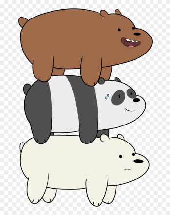 We Bare Bears By Tokaliz - Ice Bear T Shirt png image transparent background