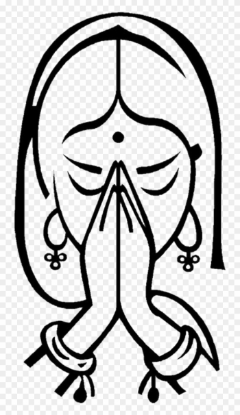 Welcoming Hands - Namaste Symbol png image transparent background