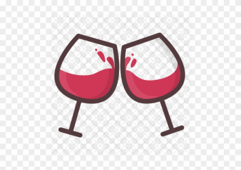 Wine Icon - Wine Glasses Cheers png image transparent background