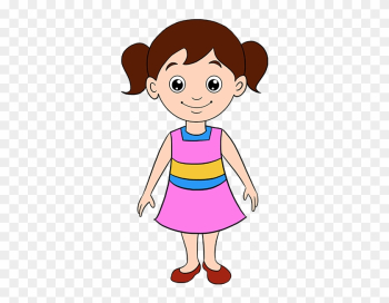 How To Draw A Girl In A Few Easy Steps - Girl Cartoon Drawing png image transparent background