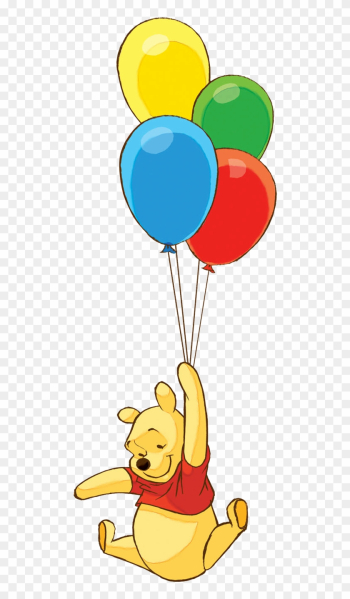 Winnie The Pooh Clipart - Winnie The Pooh Balloon png image transparent background