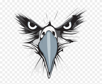Lakes Eagles Png Logo - Eagle Logo Black And White png image transparent background