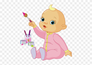 Baby Pointing Clipart png image transparent background
