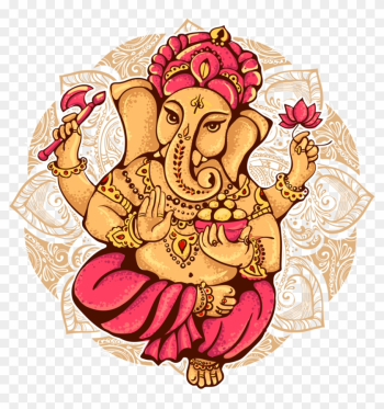 Ganesha Shiva Ganesh Chaturthi Illustration - Lord Ganesh Ganesh png image transparent background