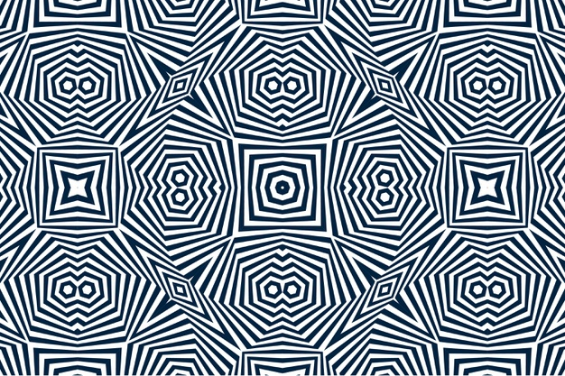 Black And White Optical Illusion Background Free Vector Nohat Free For Designer