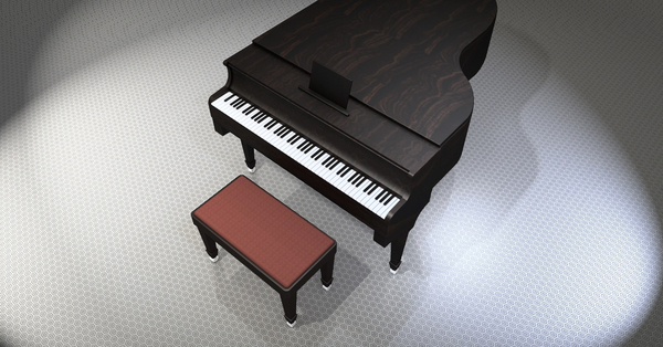 Piano, Wing, Music, Instrument, Piano Keys - Nohat