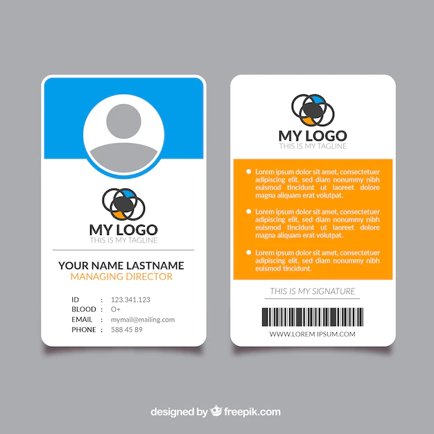 Identification Template Free from cdn.nohat.cc