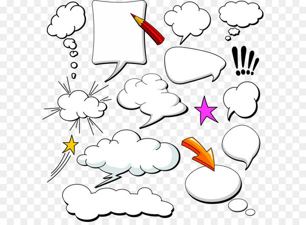 Comics Speech balloon Cloud - Dialog Comics Collection  png image transparent background