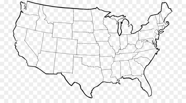 Page Coloring Book Map Us State Crayola Usa Map Nohat - A-blank-map-of-the-us