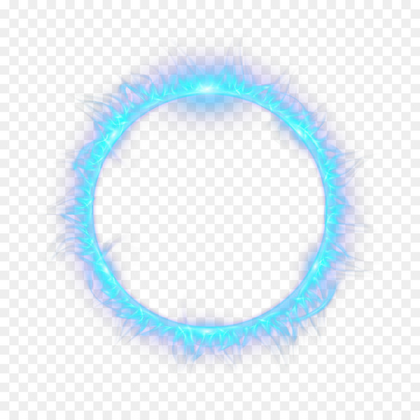 Light Flame Fire Combustion - Blue circle flame  png image transparent background