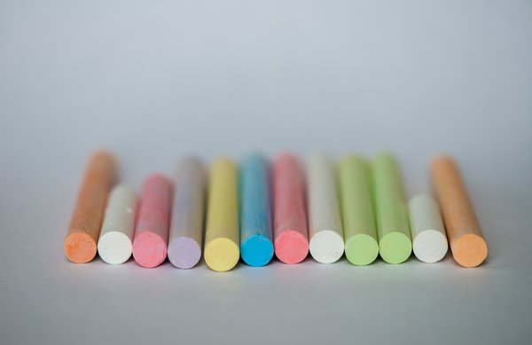 Colorful crayons png image transparent background