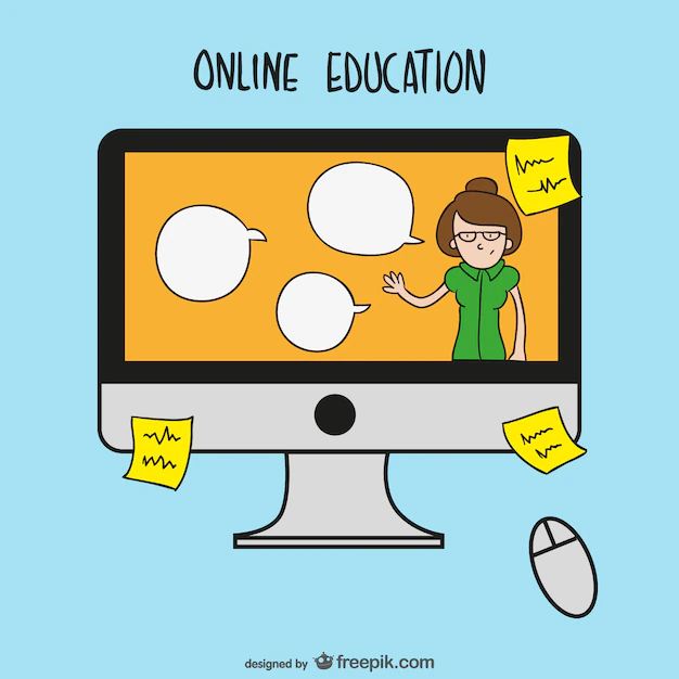 Online Education Cartoon Nohat