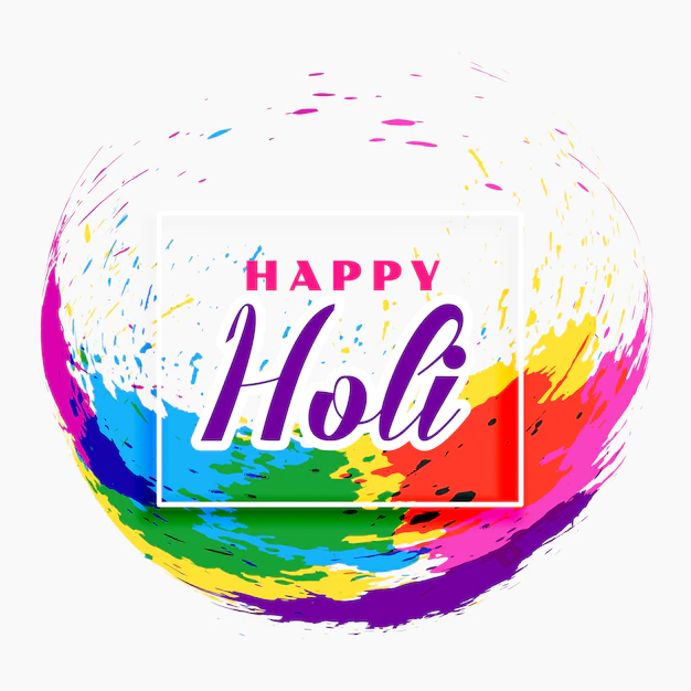 Happy Holi Festival Banner Design Nohat
