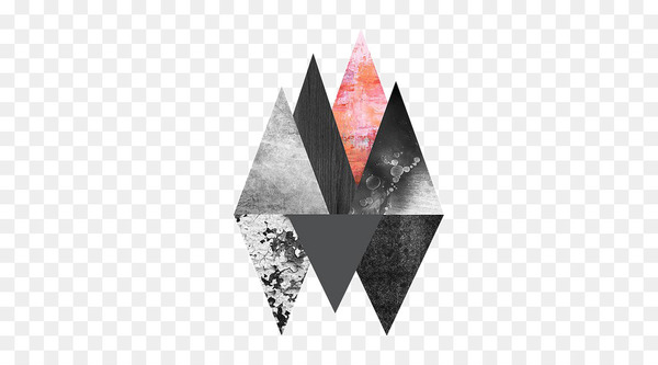 Abstract art Image Geometric abstraction Triangle - triangle  png image transparent background