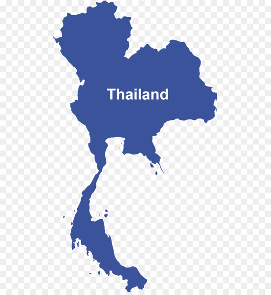 Thailand Vector Map - thailand - Nohat