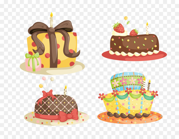 Chocolate cake Cupcake Vector graphics Clip art Illustration - decorating the cake  png image transparent background