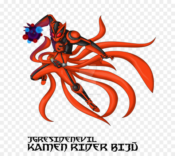 Eiji Hino Kamen Rider DeviantArt Kurama Tailed Beasts - kyuubi vector  png image transparent background